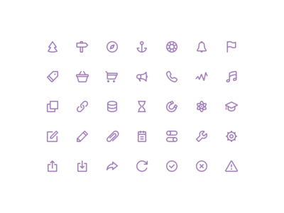 Freebies stroke icons [vol.2]