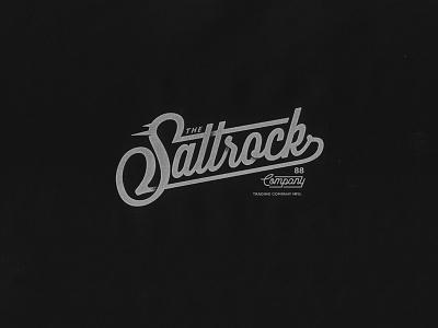 SALTROCK grapgic design script branding illustration tshirt design