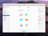 Components Menu & Search symbols video menu components sketch app sketch