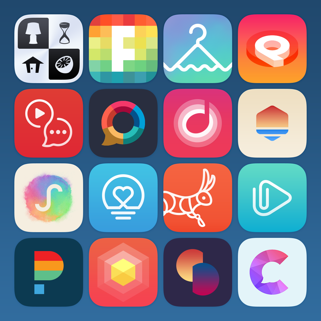 App Icon Design: Icons-large.png By Glenn Hitchcock