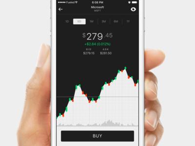 Matador Stocks and Investment App