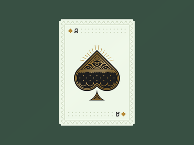 Playin' Card challenge spades ace card playing