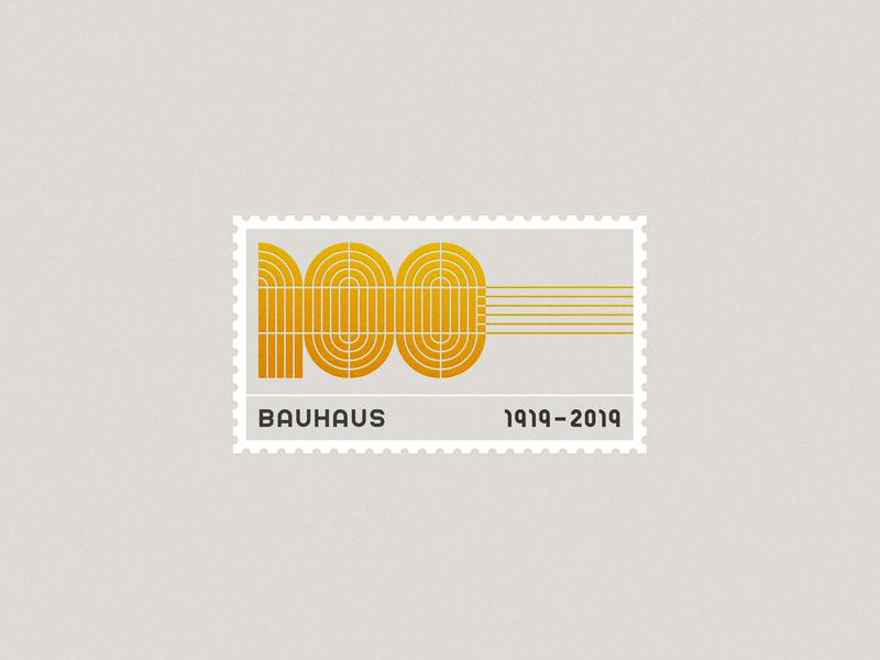 Bauhaus Stamp stamp bauhaus