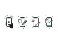 Bug Reporting Icons jira web android ios bug garage