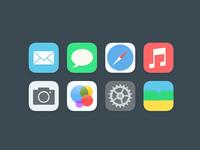 My ios7 icon