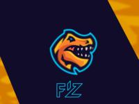 T-Rex mascot logo