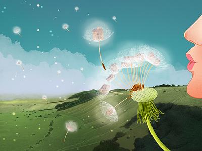 UK Housing Crisis environment nature illustrator procreate editorial illustration illustration