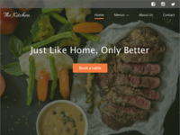 Day 3 - Restaurant landing page