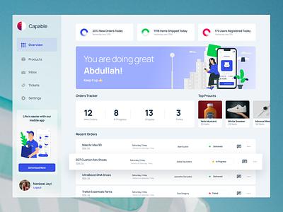 Multi Vendor eCommerce Web Application UI Design software web app dashboard design dashboard app dashboard ui dashboad app hire designer clean web minimal interface ux design ui