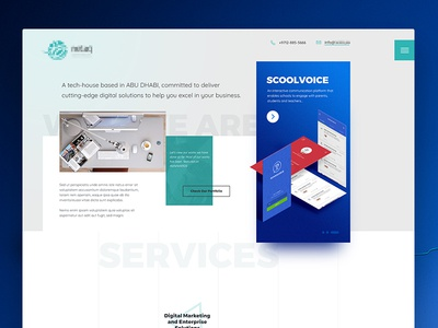 Digital Agency Homepage Design
