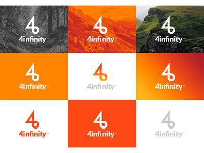 4infinity —  Naming   Identidad Visual   Web