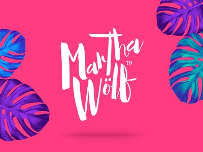 MARTHA WÖLF — Diseño de Identidad Visual   Naming.