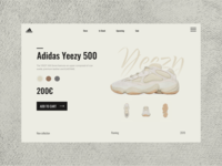 Adidas Website Concept