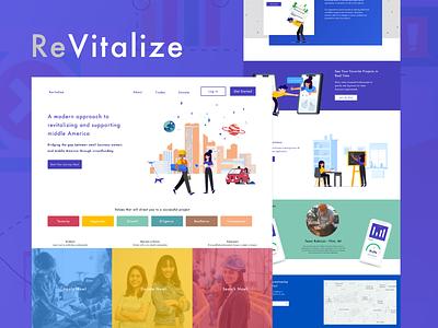 Revitalize Landing Page