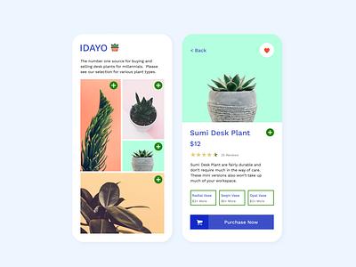 IDAYO Desk Plant Concept