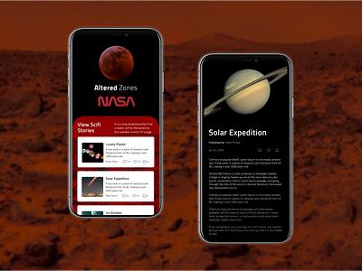 Nasa Altered Zones Book Club: Mars Edition