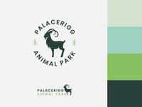Palacerigg Animal Park Branding Project campaign environment hiking trail woods goat vegan organic nature park animals vector typography logo branding art minimal flat design