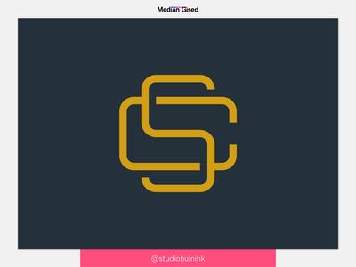 C + S monogram