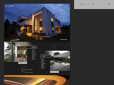 Zumtobel Architecture / Lighting site product german industrial design building dark lighting architecture