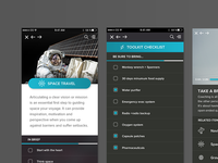 The Art of Space Travel App