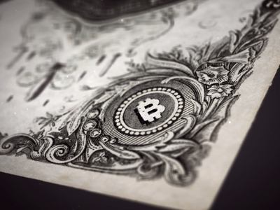 Bitcoin bank note flowers money old bitcoin crypto 3d motion graphics