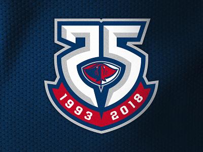 Logo Submission #1 - South Carolina Stingrays - 25th Anniversary icethetics echl icehockey 25th anniversary south carolina stingrays sportslogo