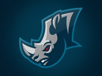 Rhinos Sportslogo Concept - II