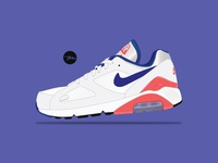 Nike Air 180 OG Ultramarine