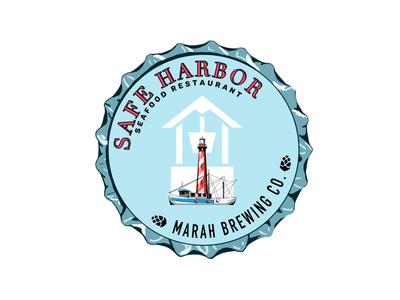 Safe Harbor x Marah Brewing Co. Logo