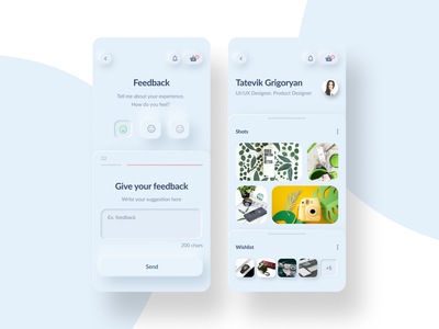Skeumorphism-2020 Trends mockup psd trends 2020 mockup uxdesign research ui ux design graphicdesign logo mockups uiux ui design application designer