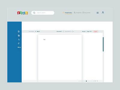ZOHO-UI inspiration idea designs graphic web design responsive website design apps responsive design responsive uiux animation webdesign mockups ui design illustration app application design designer