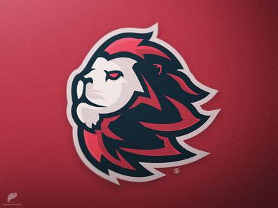 Lion Mascot Logo Secondary