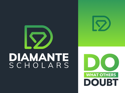 Branding: Diamante Scholars brand design logo