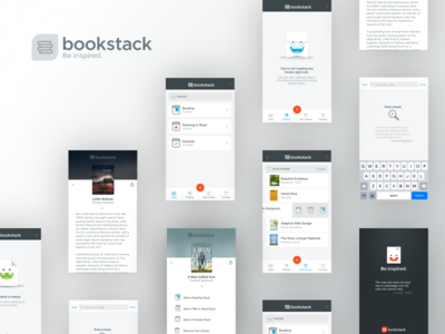 Bookstack Screens