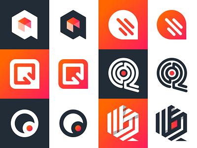 Q Logos concepts q logos