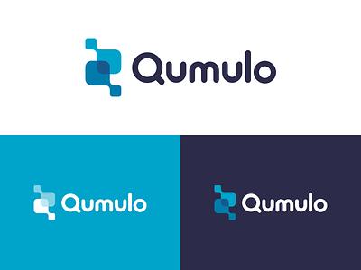 Qumulo Logo logo design logo