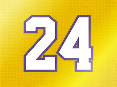 24 lakers jersey 24 kobe