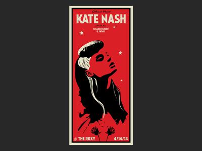 Kate Nash Gig Poster