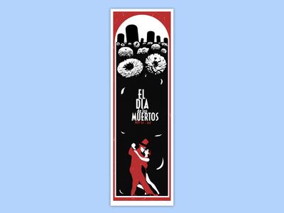 Poster Dia De Los Muertos