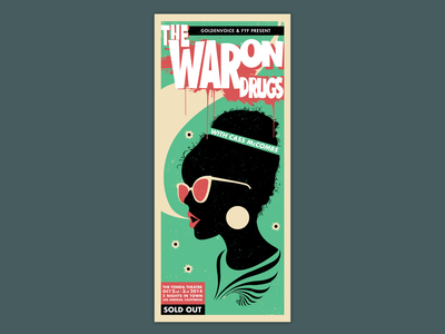 Poster The War On Drugs