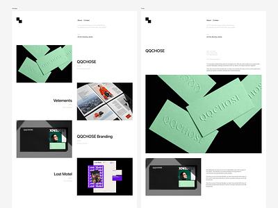 Dunked theme 03 portfolio design portfolio dunked ui uidesign themedesign design whitespace webdesign theme templatedesign template minimalist simple minimal figmadesign figma grafician