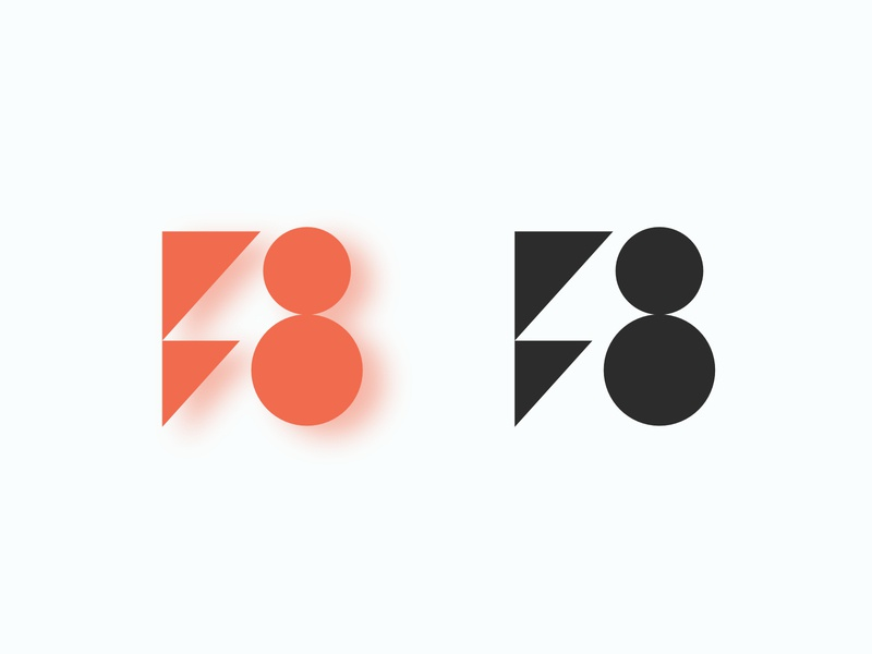 forma8 logo design simple logodesignersclub logodesigner symbol minimalist minimalism form forma logodesign logo grafician