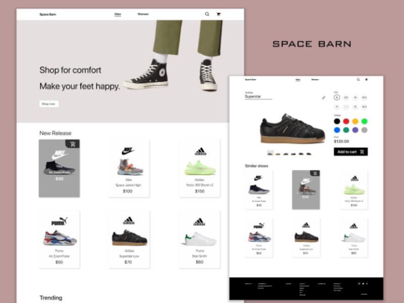 design shoes online