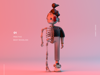 The personal illustration is 3d