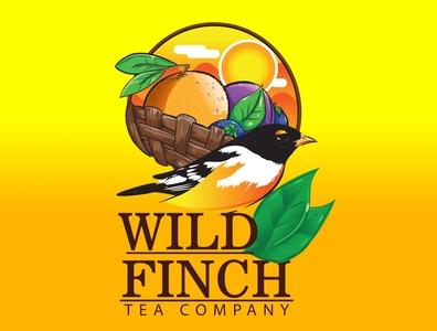 Wild Finch  Logo creative design vector logo