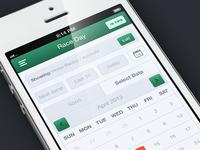 Select Date - Betting iOS App