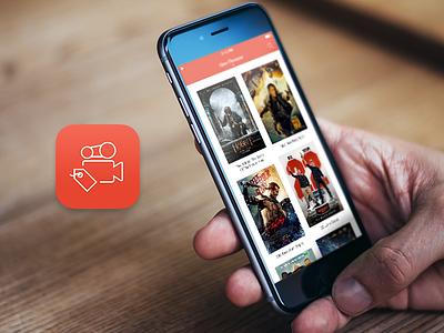 Movie Shop - iOS App ios ios8 iphone iphone6 movie shop app buy rent