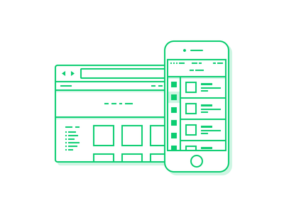 Interface Design - Illustration icon design icon illustration stroke iphone ios web design ui design ui user interface