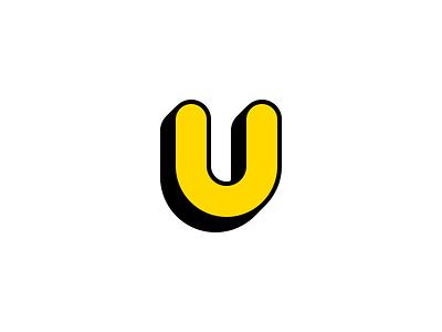 Personal Logo - Style Experiment logo design typography type personal u logo