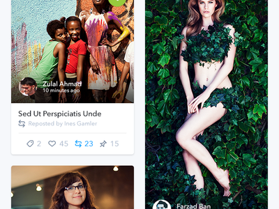 Homepage - Tagillion iOS App feed thumbnails homepage tagillion tag iphone retina app ios